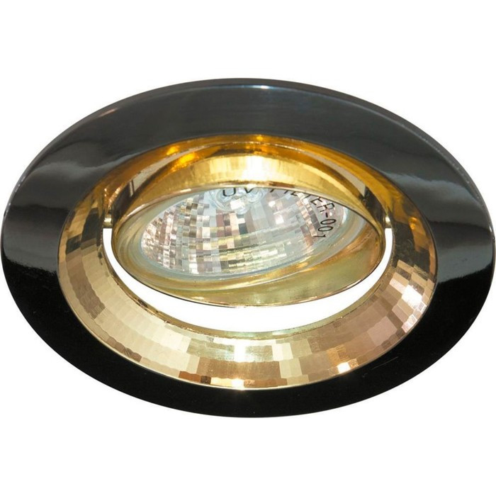 Встраиваемый светильник 2009DL, MR16, 50W, цвет титан, d=65мм
