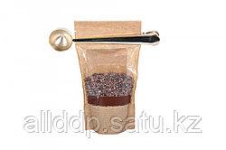 Ложка-зажим мерная с длинной ручкой для кофе, чая и сыпучих продуктов, цвет золотой