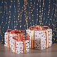 """Фигура текстиль """"Подарки с шариками"""", 35 LED, 15х20х25 см, от батареек (не в компл), фото 2"""