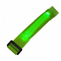 Сигнальный светодиодный браслет - зеленый