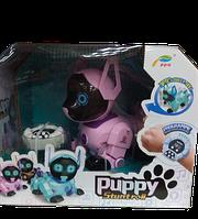 Робот-щенок Puppy Stunt roll, розовый
