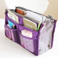 Органайзер для сумки - Сумка в сумке, сиреневый