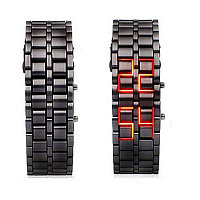 Браслет-LED часы «Hot Lava»