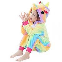 Пижама кигуруми Радужный единорог, детский, 10-11 лет (135-140 см)