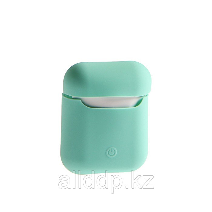 Чехол Soft touch для кейса Apple AirPods, бирюзовый - фото 1