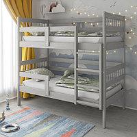 PITUSO Кровать Подростковая двухъярусная Hanna-2 New Серый (2 места)