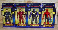 W15 Мстители герои (подвижные суставы) разные виды 23*12см, фото 1