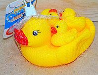 1284W Утка и 3 утенка пищалка для ванны 15*12см, фото 1