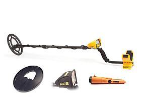 Грунтовой металлодетектор Garrett ACE 300i (комплект) RUS