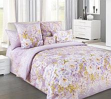 """ТексДизайн Комплект постельного белья """"Белый шиповник""""  2 спальный евро, перкаль"""