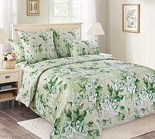 """ТексДизайн Комплект постельного белья """"Белый сад""""  2 спальный евро, перкаль"""
