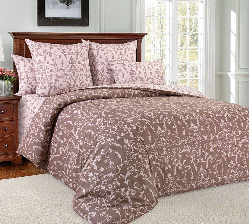 """ТексДизайн Комплект постельного белья """"Вирджиния""""  2 спальный евро, перкаль"""
