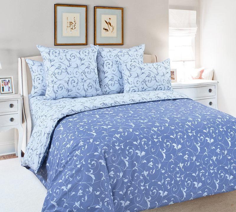 """ТексДизайн Комплект постельного белья """"Габриэль 4""""  2 спальный евро, перкаль"""