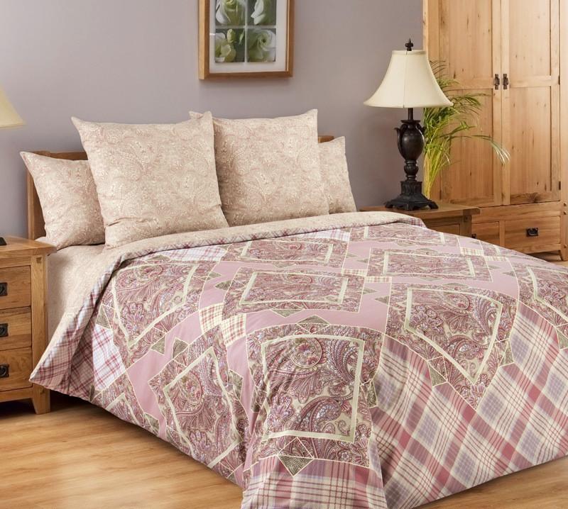 """ТексДизайн Комплект постельного белья """"Итальянка""""  2 спальный евро, перкаль"""