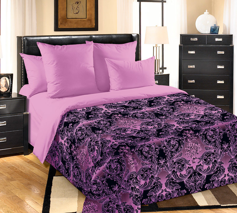 """ТексДизайн Комплект постельного белья """"Калипсо""""  2 спальный евро, перкаль"""