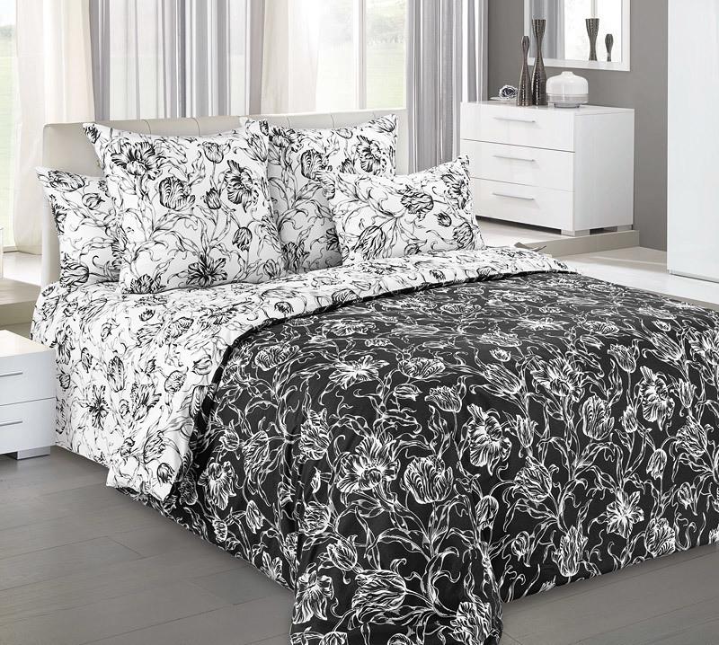 """ТексДизайн Комплект постельного белья """"Капричио""""  2 спальный евро, перкаль"""