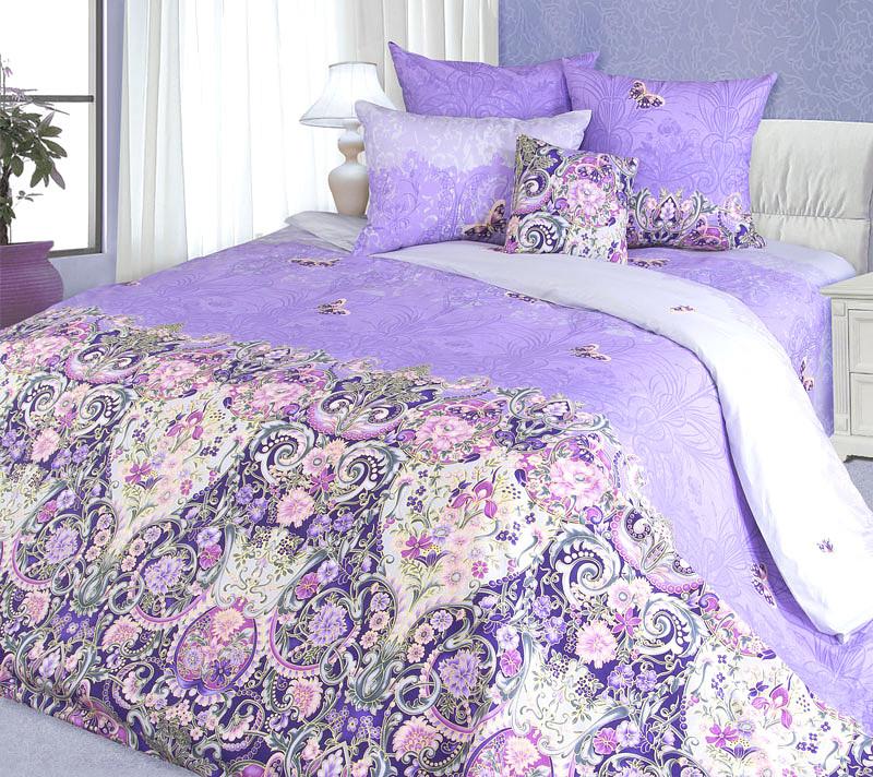 """ТексДизайн Комплект постельного белья """"Мадонна""""  2 спальный евро, перкаль"""