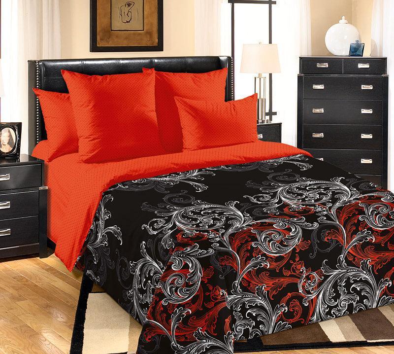"""ТексДизайн Комплект постельного белья """"Толедо""""  2 спальный евро, перкаль"""