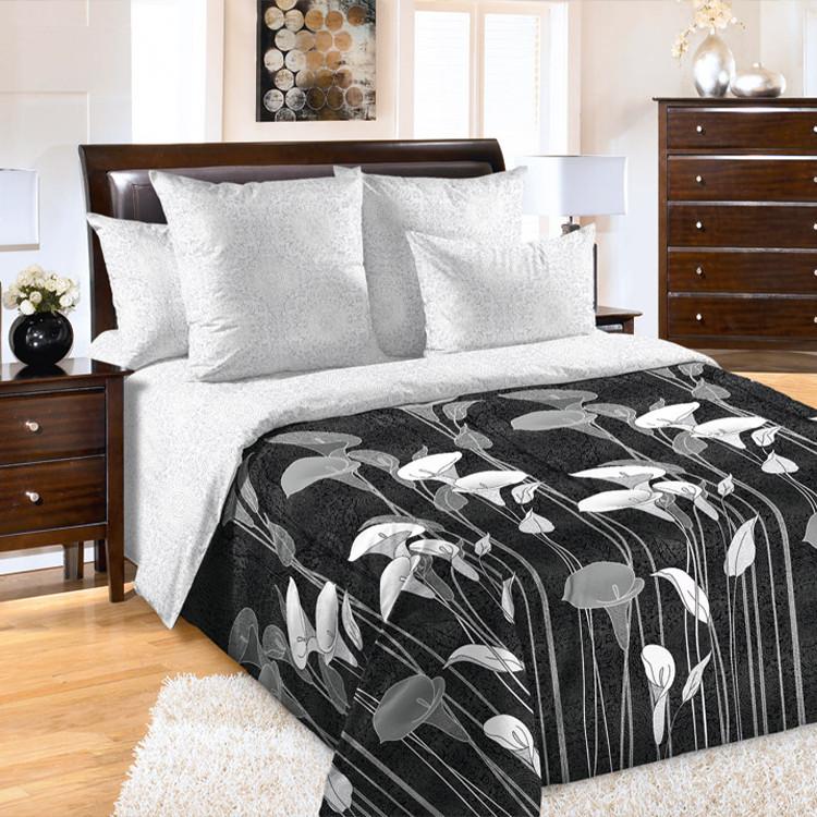 """ТексДизайн Комплект постельного белья """"Лунный свет""""  2 спальный евро, перкаль"""