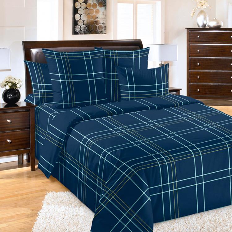 """ТексДизайн Комплект постельного белья """"Патрик""""  2 спальный евро, перкаль"""