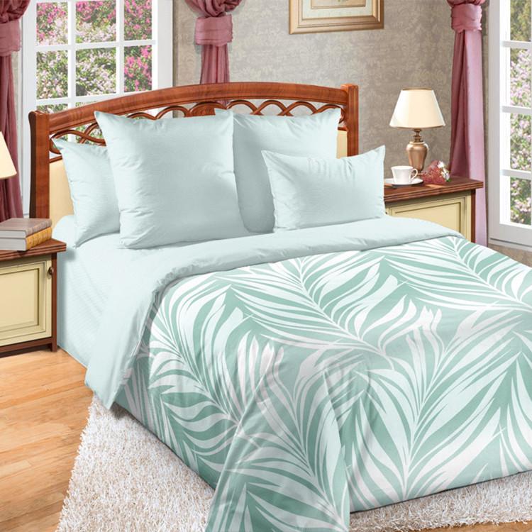 """ТексДизайн Комплект постельного белья """"Бали""""  2 спальный евро, перкаль"""