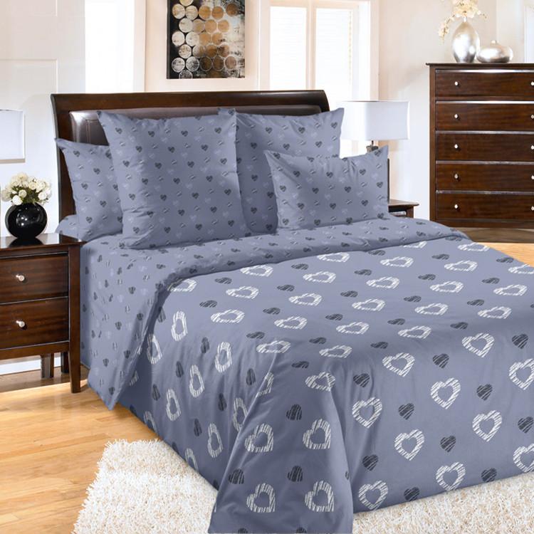 """ТексДизайн Комплект постельного белья """"Валери""""  2 спальный евро, перкаль"""