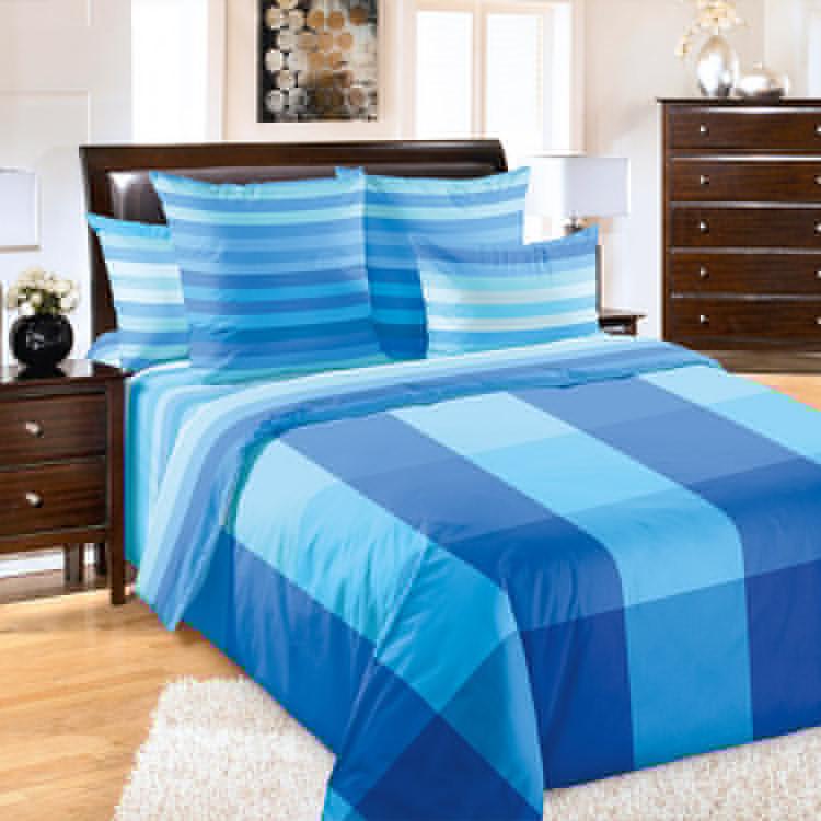 """ТексДизайн Комплект постельного белья """"Генри""""  2 спальный евро, перкаль"""