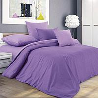 """ТексДизайн Комплект постельного белья """"Ежевичный смузи""""  2 спальный евро, перкаль"""