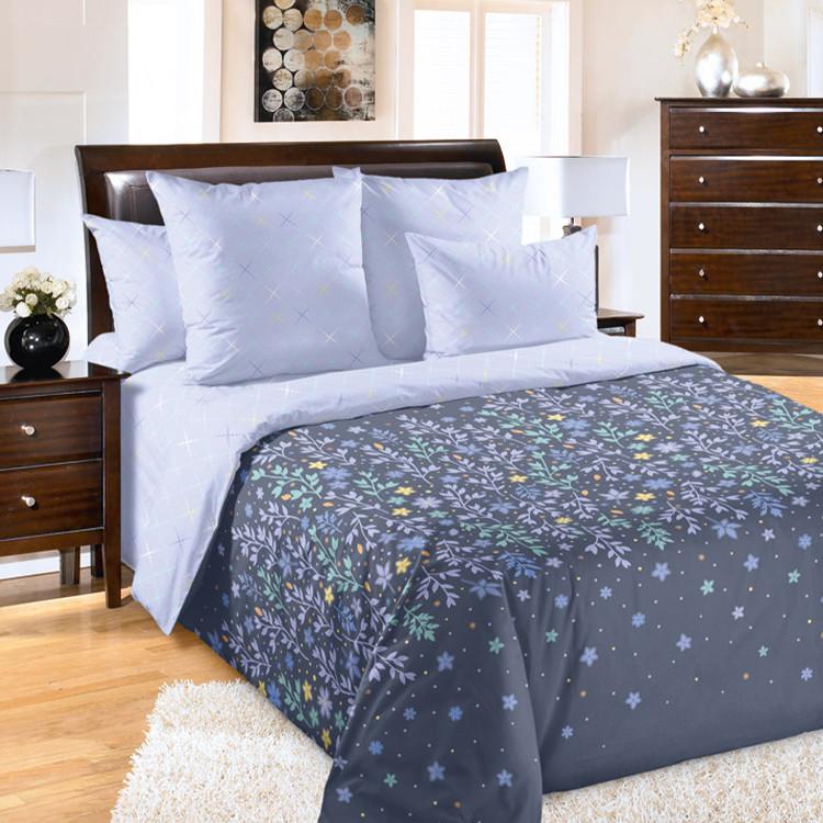 """ТексДизайн Комплект постельного белья """"Искра""""  2 спальный евро, перкаль"""