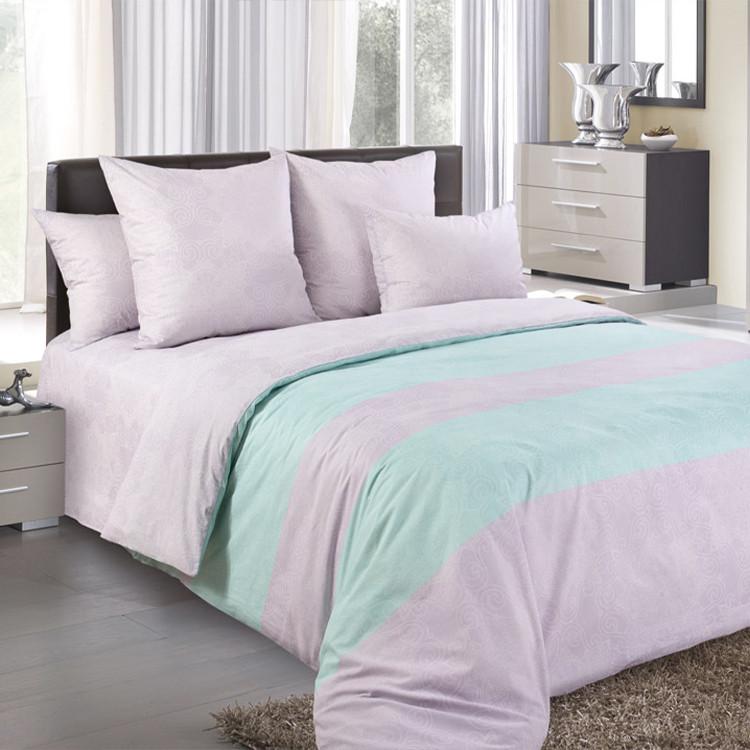 """ТексДизайн Комплект постельного белья """"Сон в летнюю ночь""""  2 спальный евро, перкаль"""