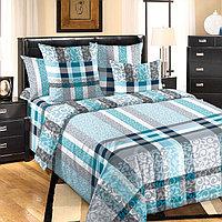 """ТексДизайн Комплект постельного белья """"Бруно""""  2 спальный евро, перкаль"""