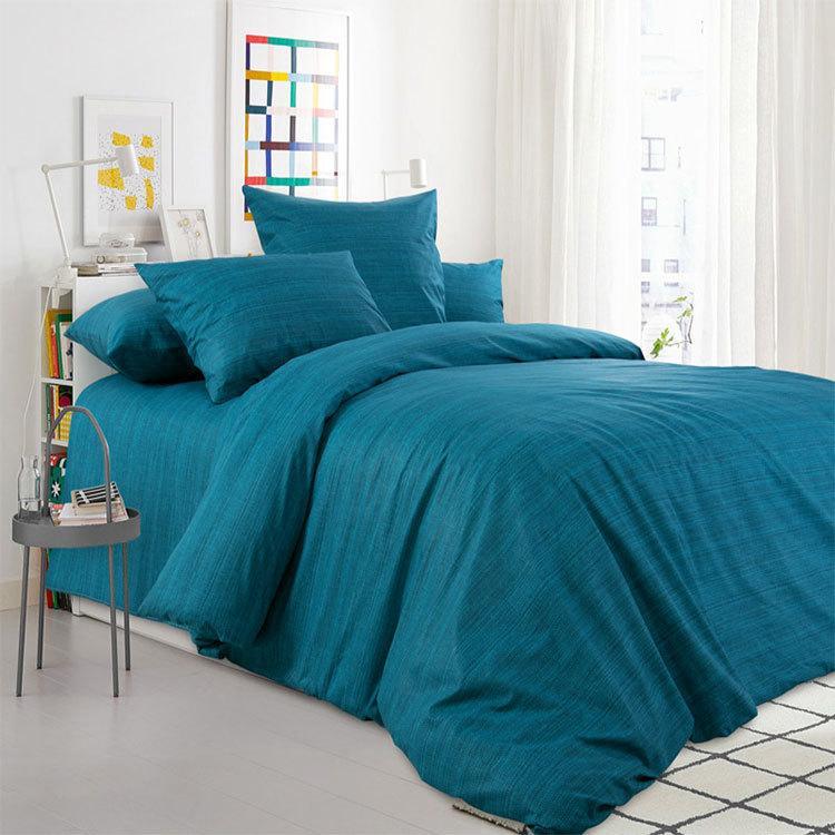 """ТексДизайн Комплект постельного белья """"Малахит""""  2 спальный евро, перкаль"""