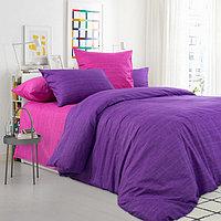 """ТексДизайн Комплект постельного белья """"Дикая орхидея""""  2 спальный евро, перкаль"""