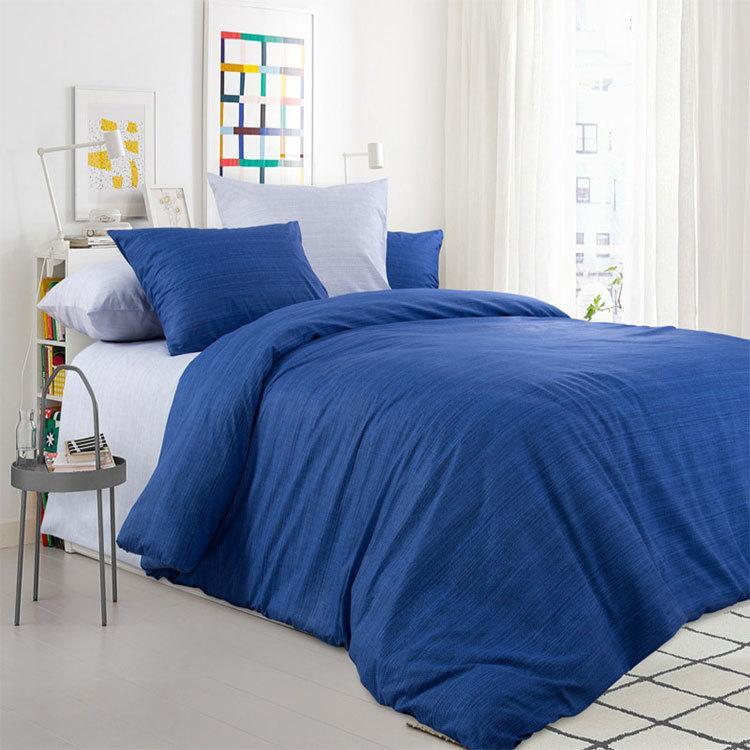 """ТексДизайн Комплект постельного белья """"Морской прибой""""  2 спальный евро, перкаль"""