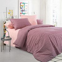 """ТексДизайн Комплект постельного белья """"Цветущий миндаль""""  2 спальный евро, перкаль"""