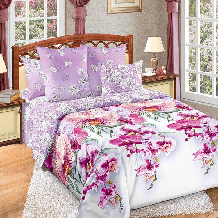 """ТексДизайн Комплект постельного белья """"Мальдивы""""  2 спальный евро, перкаль"""