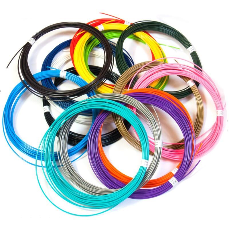 Паста/стержень, набор стержней/паст для 3D ручки 20 цветов (20 шт по 5 метров) - фото 2
