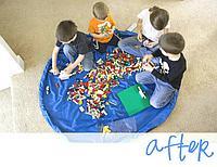 Коврик - мешок для Лего или мелких игрушек, 100см