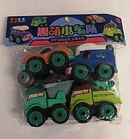 Машинка конструктор, игровой набор Поли