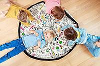 Коврик - раскраска - мешок для Лего, игрушек , 145 см