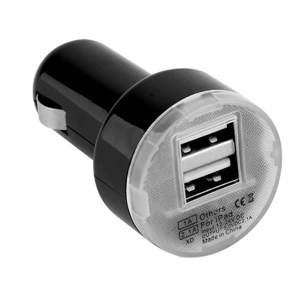 Автомобильное зарядное устройство, 2x USB car charger 5V 2.1A Арт.2189