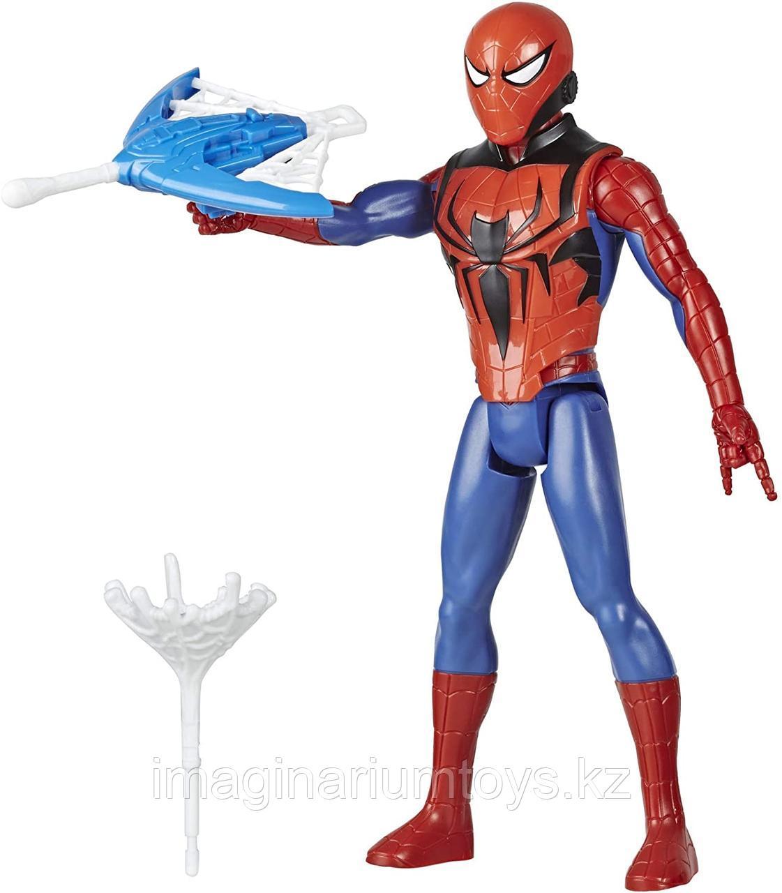 Фигурка Человек-паук Spider-man 30 см с аксессуарами