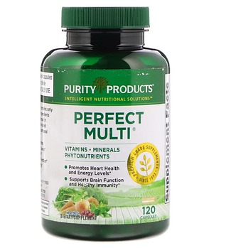 Purity Products, Витамины Perfect Multi, 120 капсул