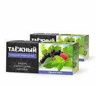 Чайный напиток Таежный травяной 25 ф/п по 1,2 гр (бадан, смородина, малина)