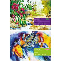 Альбом для акварели 24л., А4, на склейке ArtSpace, блок рис.бум., 180г/м2