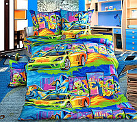 """Королевское искушение Комплект постельного белья """"Графити""""  1.5 спальный , перкаль ТексДизайн(Россия)"""