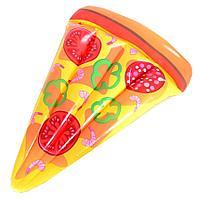 Пляжный надувной Пицца 185х130см для плавания, матрас