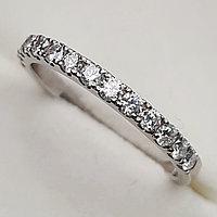 Золотое кольцо с бриллиантами 0.40Сt VS2/H, фото 1