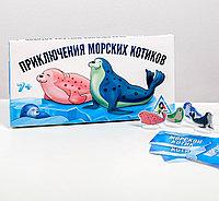 Настольная развивающая игра «Приключения морских котиков» 7+