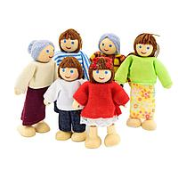 Набор кукол для домика